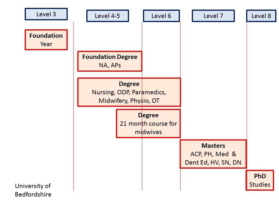 Routes into nursing
